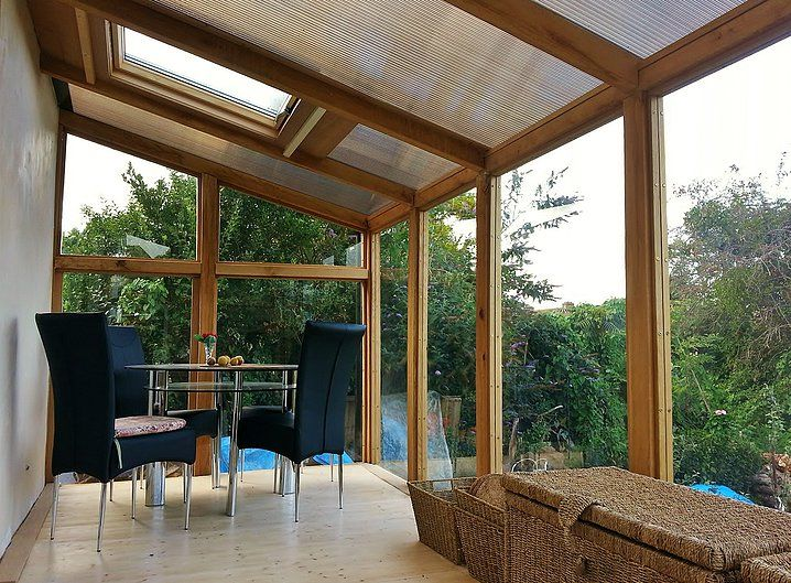 Replacement conservatory - garden room with light and airy interior  -   CGGW - Engineering Consultants, Surveyors & Architectural Design | Replacement conservatory