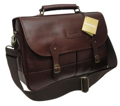 Barbour Briefcase UBA0011BR71 | Red Rae Town & Country Clothing Online Free Delivery !!