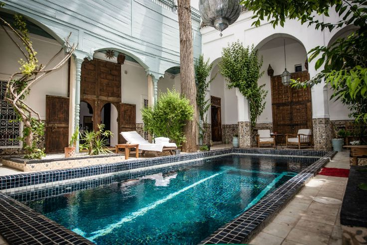 Riad Edward - Luxury Riad in Marrakech, Morocco. Book Riad Edward Today with Hip Marrakech - specialists in English Speaking Accommodation in Marrakesh, Morocco.
