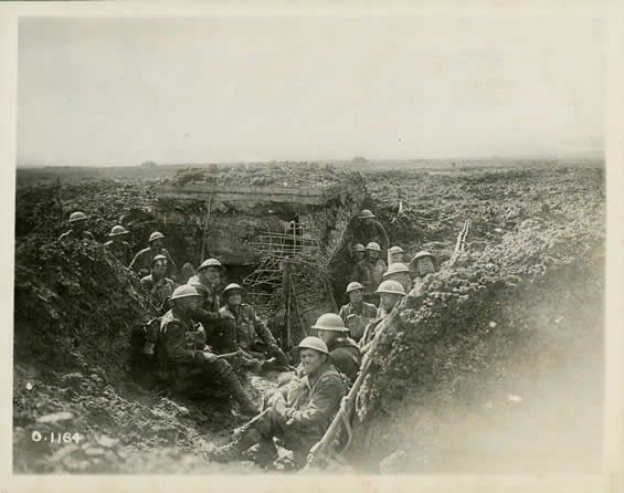 Battle of Vimy Ridge on April 9, 1917 – April 12, 1917. The battle between Canadian and German troops in the area of Vimy Ridge during the First World War.