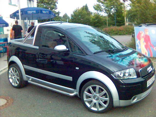 Audi A2 1.4 TDi pickup.