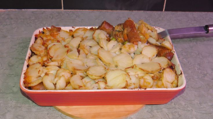 Kids love their sausages. If you can get the best sausages you can, then sometimes it's nice to have. This dish has added vegetables and a nice crispy potato layer on top. Who wouldn't …