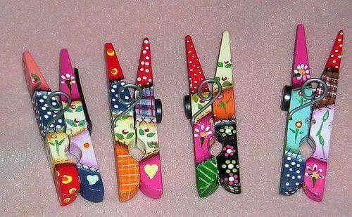 más y más manualidades: Bellos y sencillos proyectos con pinzas de ropa