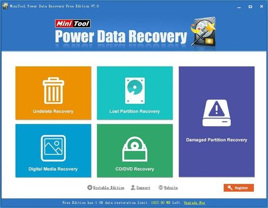Review of MiniTool Power Data Recovery 7.0 Free Edition | Technology Review