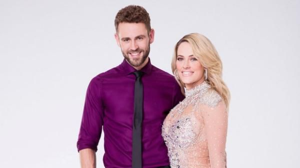 "Professional dancer Peta Murgatroyd announced today that Nick Viall of ""The Bachelor"" will be her partner for season 24 of ""Dancing With the Stars.""Murgatroyd revealed the news live on ABC's ""Good Morning America."" Viall, 36, is being featured this year in the 21st season of ""The Bachelor.""DWTS Winner Laurie Hernandez Had 'Same Joy' Winning Mirror Ball as She Did Olympic Medals'DWTS' Co-Host Erin Andrews Reveals Disneyland Engagement..."