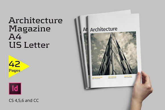 Architecture Magazine by Firtana on @creativemarket