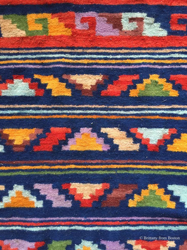 Guatemalan textiles.