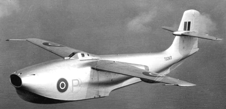 Saunders Roe Jet Flying Boat 1947