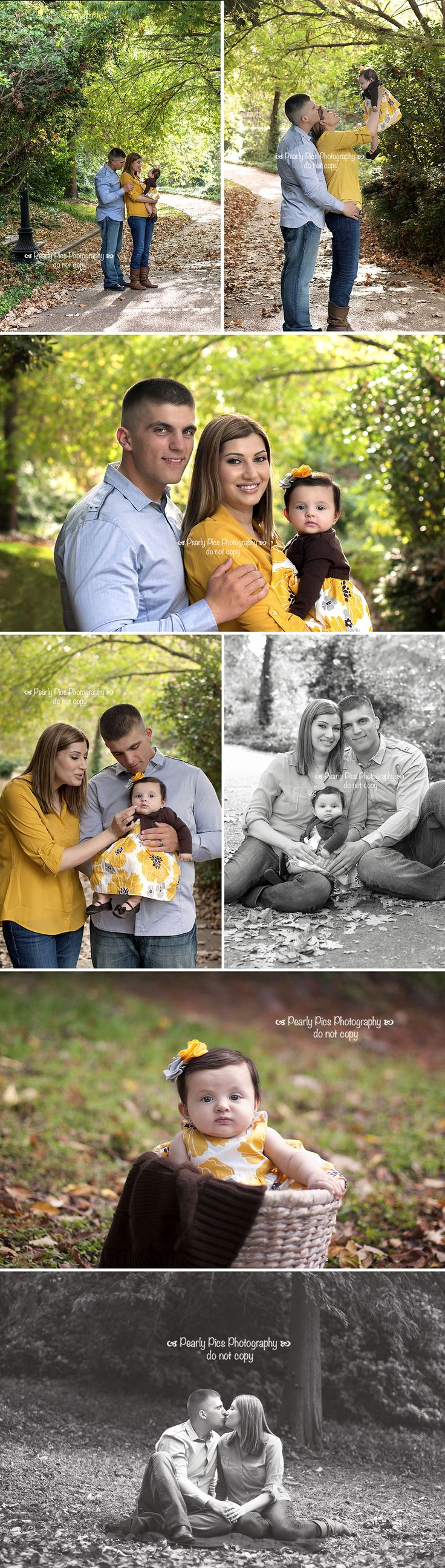 Family of 3 with baby girl. Laura Pearl Photography
