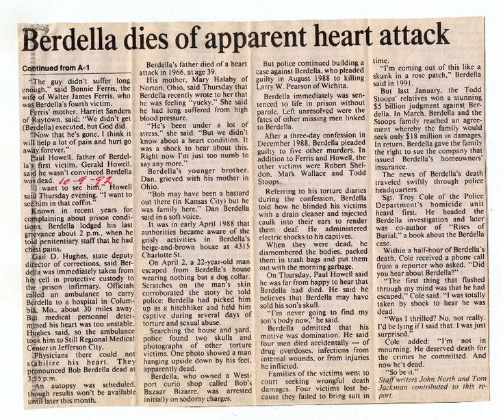 robert berdella   Robert Berdella   Photos   Murderpedia, the encyclopedia of murderers