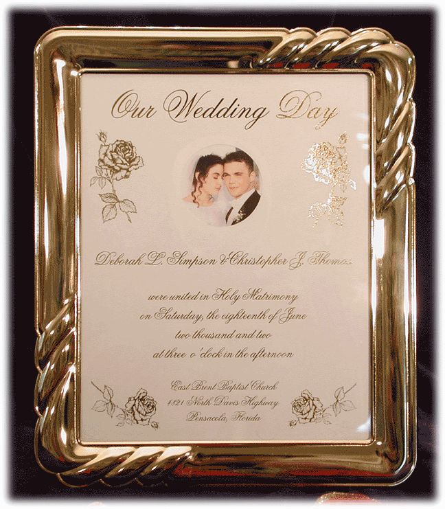 16 Best Images About Wedding Frames On Pinterest
