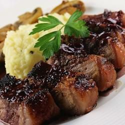 ... Celery Root and Parsnip Puree - Bon Appetit Red Wine, Butter Recipes