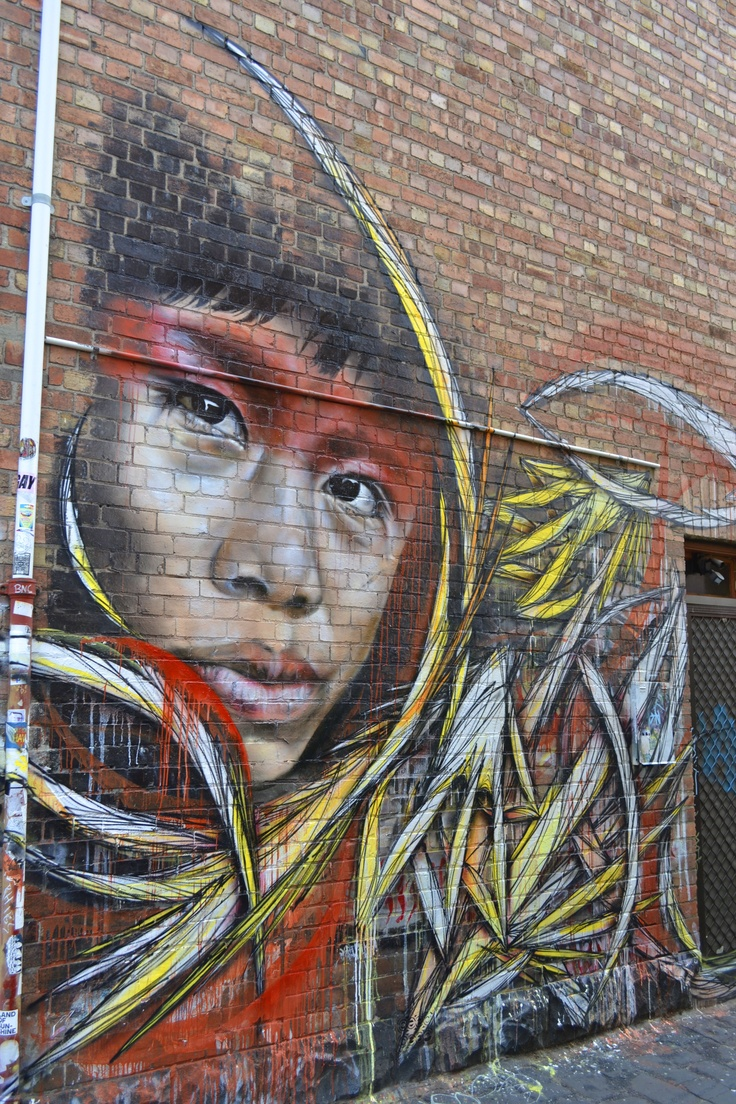 found this art work of Brunswick street Melbourne Australia