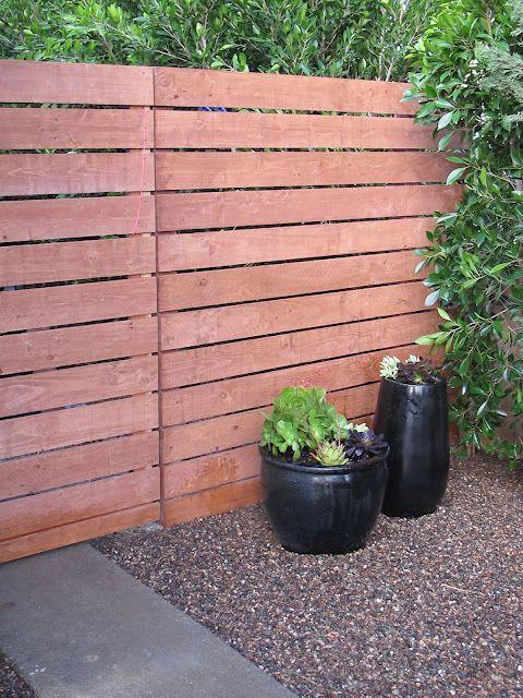 using precut home depot fence panels to make a modern fence @amberinteriordesign.blogspot.com