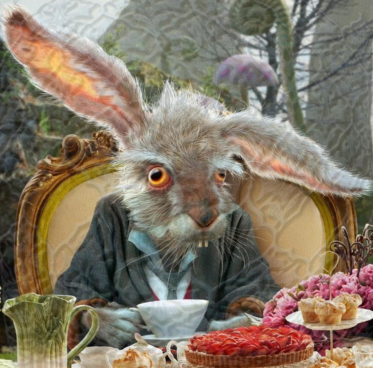 March Hare Alice In Wonderland: Mad March Hare