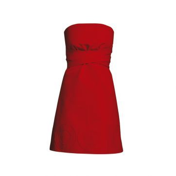 COOKie - Red - fartuch Julietta
