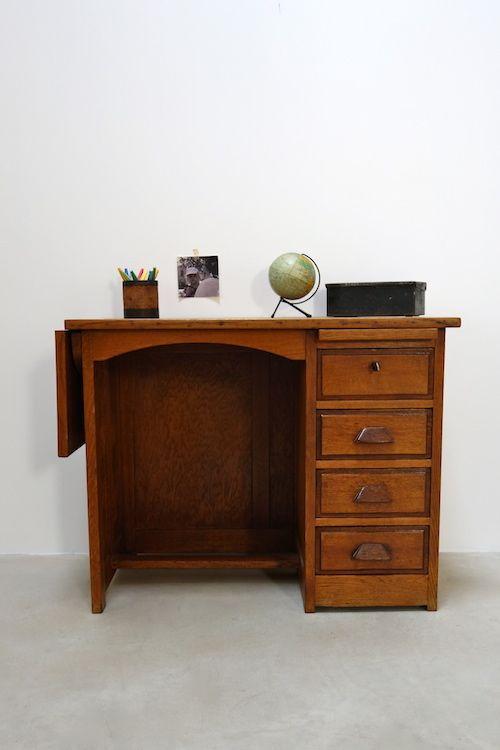 les 25 meilleures id es concernant bureau ancien sur pinterest bureau style industriel tables. Black Bedroom Furniture Sets. Home Design Ideas