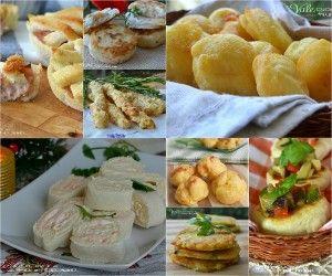 Aperitivos e aperitivos para festas