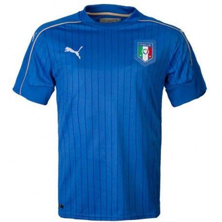 Camiseta Nueva del Italia Home 2016  459053cc1e733