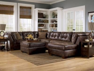 3 Pc. Sectional 82303R-SEC Frontier - Canyon, Furniture Factory Direct $1269