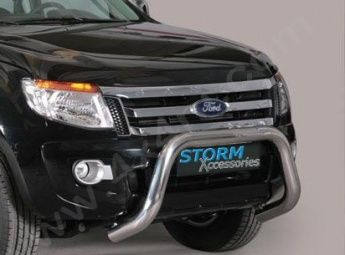 Ford Ranger (2012 on) EU Front A-Bar Stainless Steel - 76mm