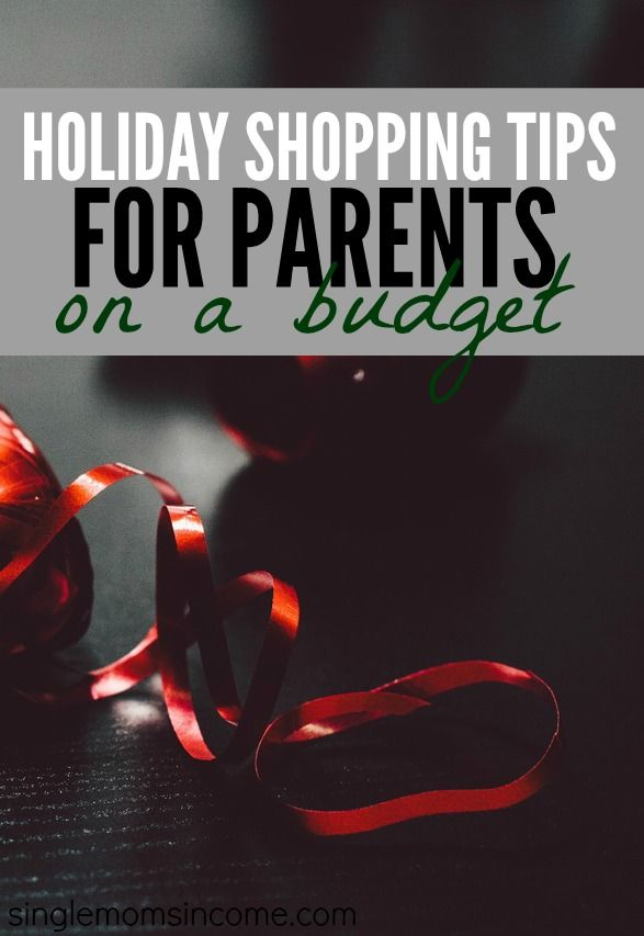 The countdown until Christmas has begun. From here on out time will fly by! Here are some holiday shopping tips for parents on a budget to get you started. http://singlemomsincome.com/holiday-shopping-tips-for-parents-on-a-budget/