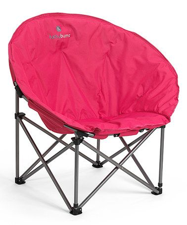Look what I found on #zulily! Pink Moon Camp Chair #zulilyfinds