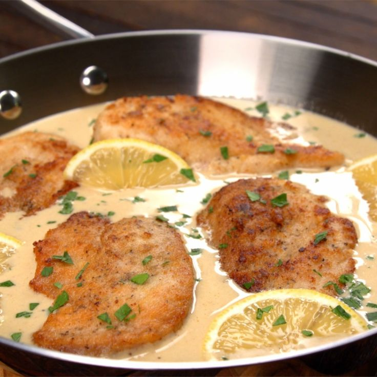 Parmesan makes everything better, so we're including it in EVERY part of this Creamy Lemon Parmesan Chicken. This take on chicken piccata HAS to be tried!