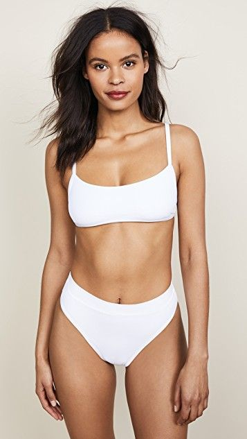 d4efaba3cb9b8 Frenchi High Waisted Bikini Bottoms | Love The Look... Vacay, Beach ...
