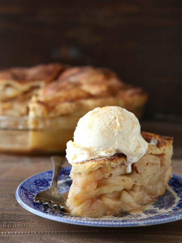 This deep dish apple pie is one heck of a crowd-pleaser! >> Jump to the recipe This is the apple pie to end all apple pies, and the only apple pie recipe you'll never need. It's simple and classic— just a pile of apples spiced with cinnamon, baked into [...]