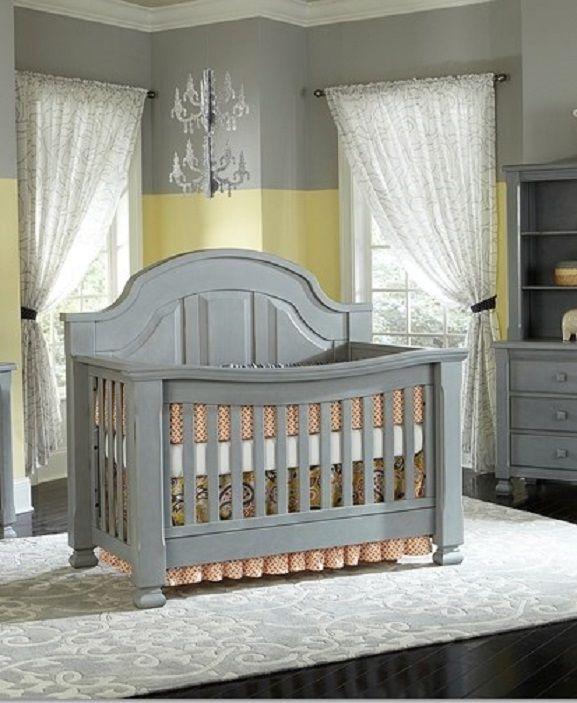 Babyu0027s Dream Sugar Convertible Crib, Vintage Grey   Jeff Likes This One  Better.