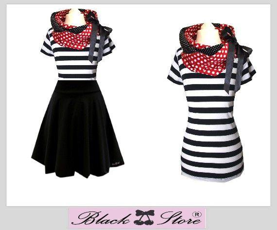 "Kombi "" Marry Stripes "" von Black Cherrys Store® auf DaWanda.com"