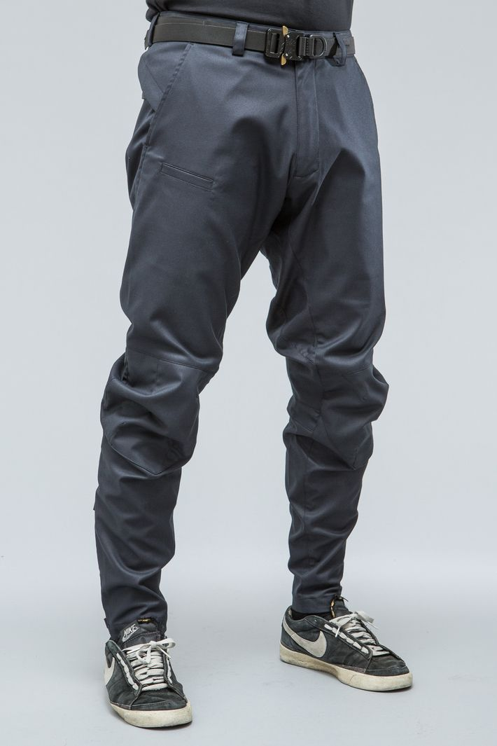 Again an aggressive silhouette from Acronym. These pants ...