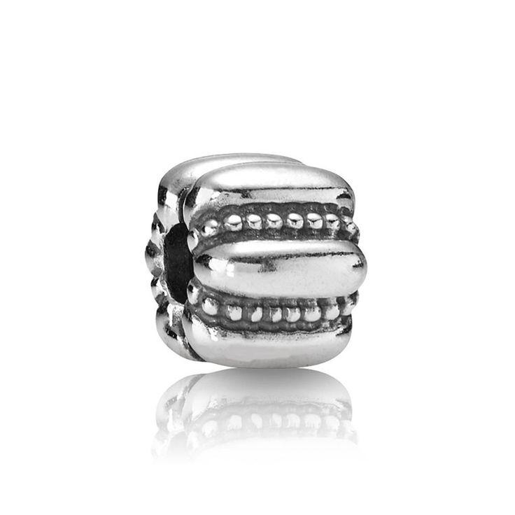 Pandora Brown Gems Shine Bead Thread Charm