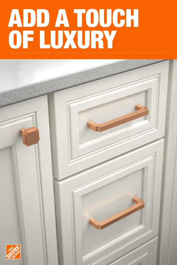 The Home Depot Has Everything You Need For Your Home Improvement Projects Click Through To Learn More About Cab Rose Gold Kitchen Home Home Improvement Grants