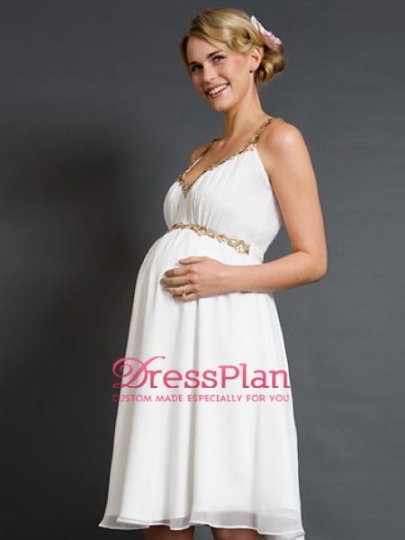 Maternity dress white
