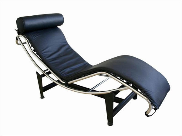 i like the le corbusier chaise loungestyle chair in white