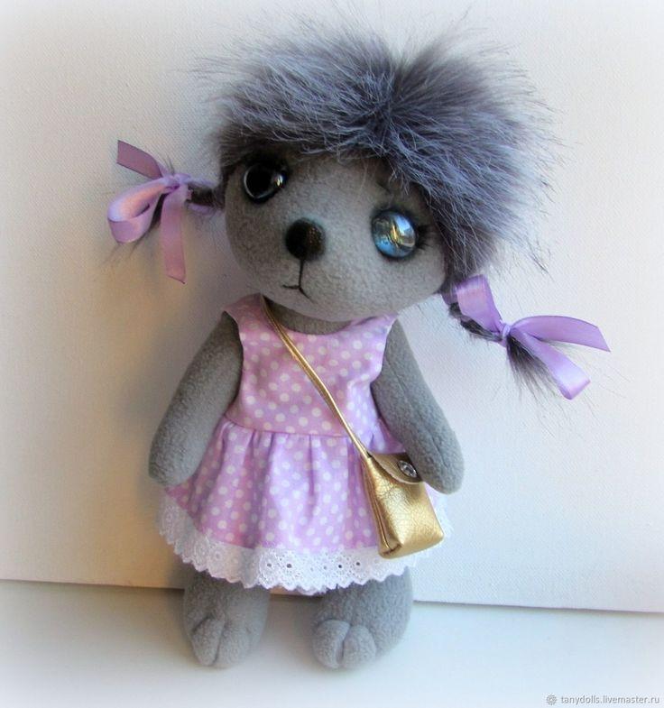 Купить Ежик ( девочка ) текстильная игрушка, рост - 30 см в интернет магазине на Ярмарке Мастеров