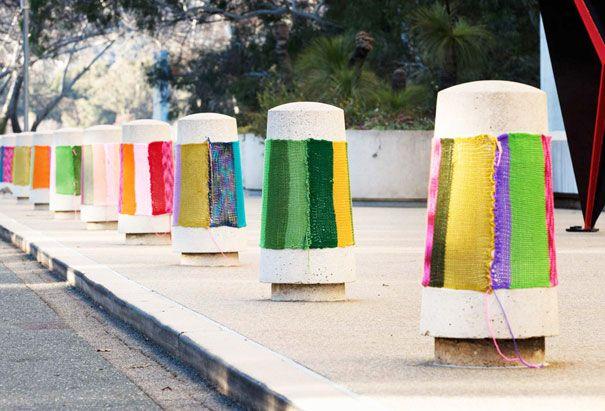 30 Colorful Examples of Yarn Bombing | Bored Panda