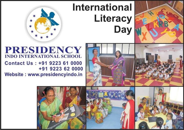 To create awareness about #International #Literacy Day, varied #activities were planned at PIIS on 16th September 2016. The Pre Primary students enjoyed #educational #fun #games with the care takers. They also taught the care takers to write their names. To trail the #event, primary #students were taken to visit #CROSSWORD bookstore at #Thane on 18th September 2016.