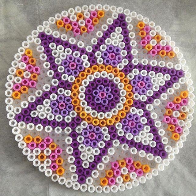 Mandala hama beads by  marloeskiezebrink
