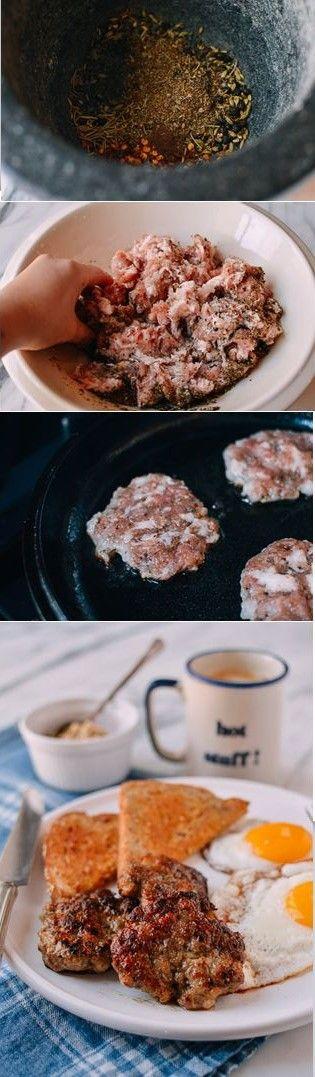 #Homemade #Breakfast #Sausage recipe by the Woks of Life