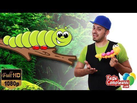 Balloon Art Caterpillar - Palloncino Bruco - Bruco con Palloncini - Balloon Caterpillar - Animazione per Compleanni - Crea con i palloncini per compleanno, oggi ci divertiremo a realizzare insieme passo passo il Bruco. Ci serviranno solamente due palloncini per il corpo e uno per gli occhi!!