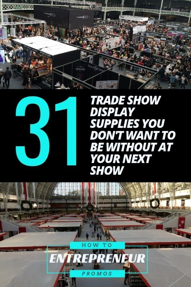 cd1a746388b30 31 Trade Show Display Supplies You Don't Want to be Without ...