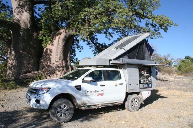 Camper van - Alu-Cab, Botswana