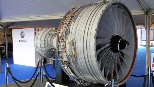 Rolls-Royce's LEGO jet engine is made from 152,455 standard LEGO bricks and parts (Photo: ...