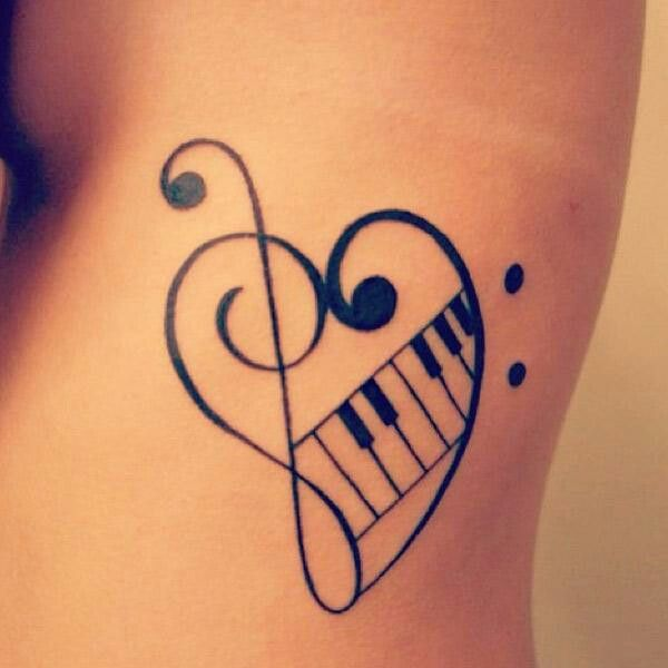 I love this!!! And with a flag on the end of the treble clef!