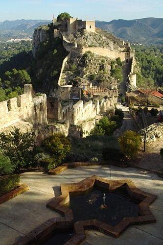 Castillo de Xátiva, Valencia, España