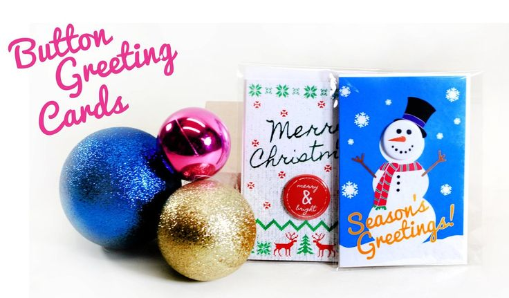 Button Greeting Cards for the Holidays! Easily remove the button on the card to wear. We have button cards for the holidays and for a number of special occasions with new designs being added all the time. Give something a little extra with your holiday cards this year! https://peoplepowerpress.org/blogs/news/button-greeting-cards-2017