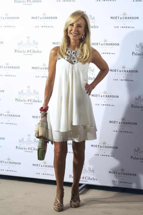 Carmen Lomana @ Moët Ice Launch Madrid.